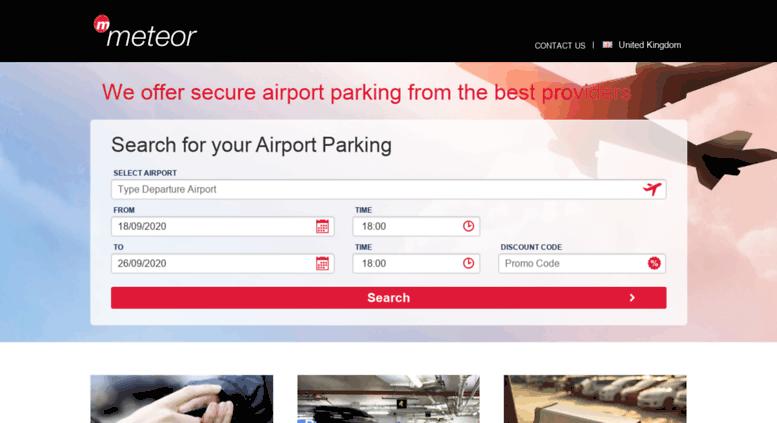 Access meteormeetandgreet meteor airport parking purple parking meteormeetandgreet screenshot m4hsunfo