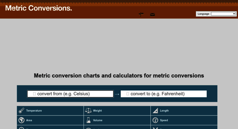 Access Metric Conversions Metric Conversion Charts And Calculators