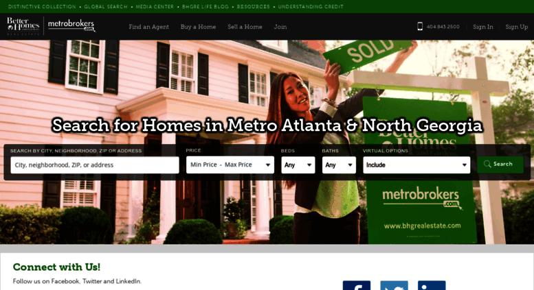 Metrobrokers.bhgre.com Screenshot