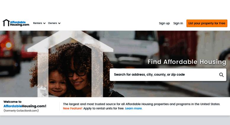 Access Michiganhousinglocator.com. GoSection8.com   Section 8 Rental Housing  U0026 Apartments Listing Service For Landlords U0026 Tenants