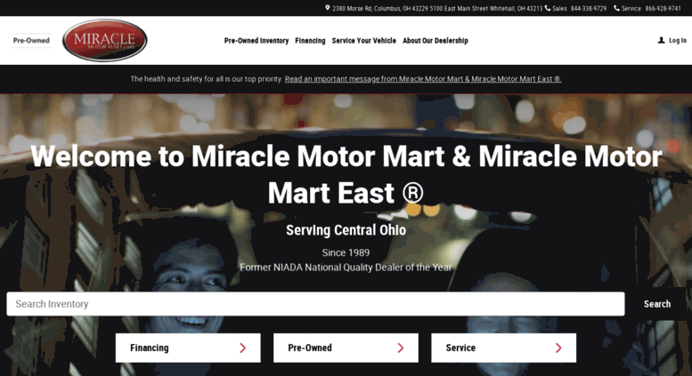 Used Cars Columbus OH | Used Cars & Trucks OH | Miracle Motor Mart