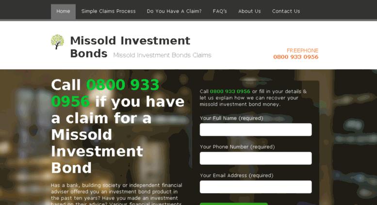 Access Missold Investments Bondcouk Investment Bonds Misselling