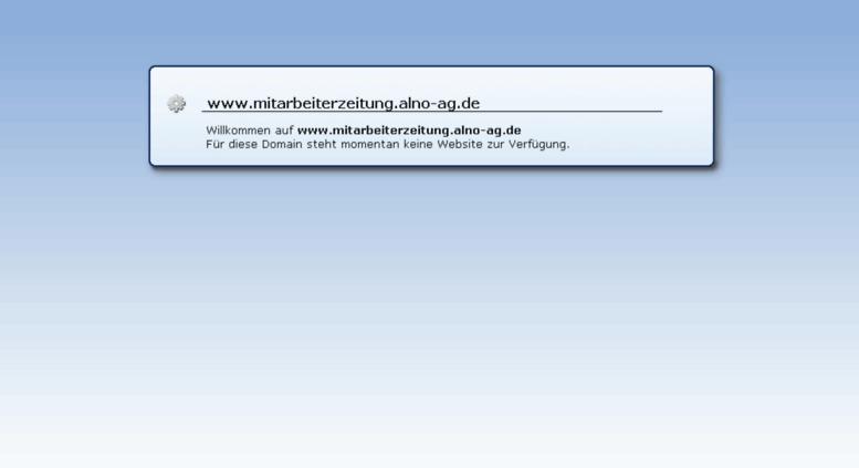 Alno Ag access mitarbeiterzeitung alno ag de mitarbeiterzeitung alno ag de