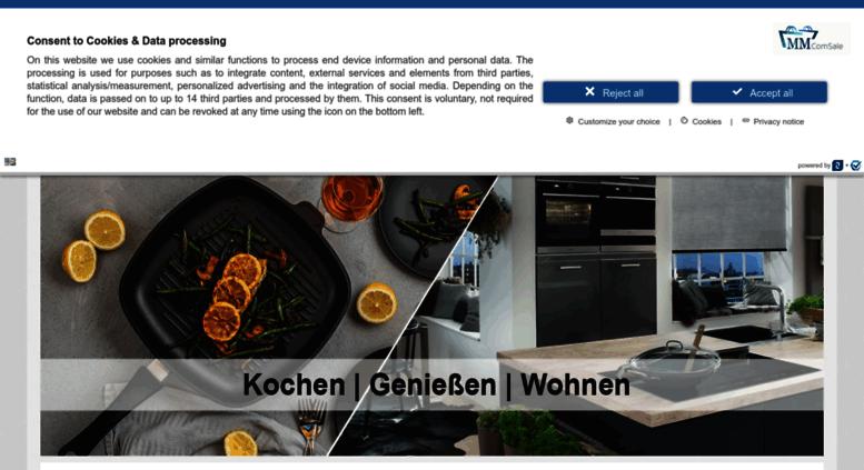 Access mm-comsale.de. Ihr Fachmann für Küche, Bad und trendige ...