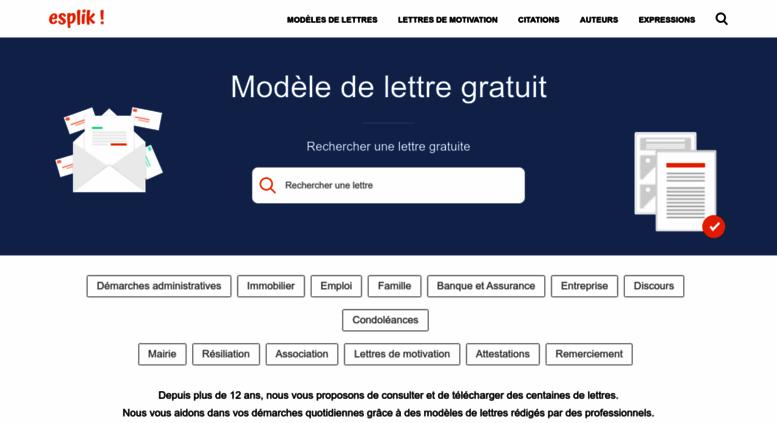 Access Modele Lettre Gratuit Com Modele De Lettre Gratuite 1500