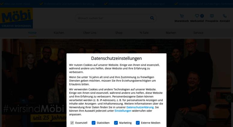Moebi.at Screenshot