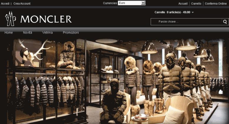 boutique moncler milano