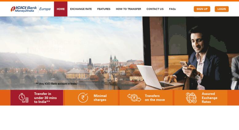 Money Transfer To India Send Online Remit Money2india Europe