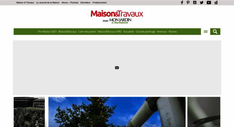 monjardinmamaisonfr screenshot - Mon Jardin Ma Maison
