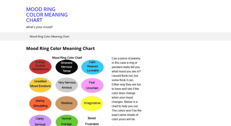 Access Moodringscolormeanings Mood Ring Color Meaning Chart