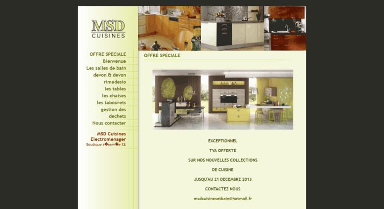 Access Msdcuisinescom MSD Cuisines Cuisiniste à Nancy - Cuisiniste nancy