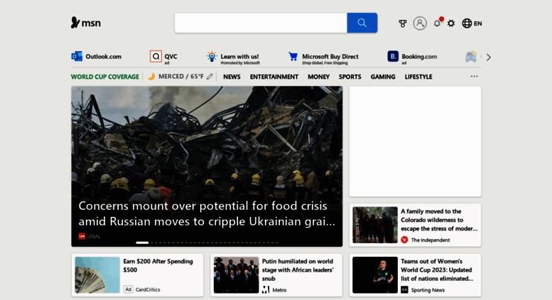 access msncom msn outlook office skype bing