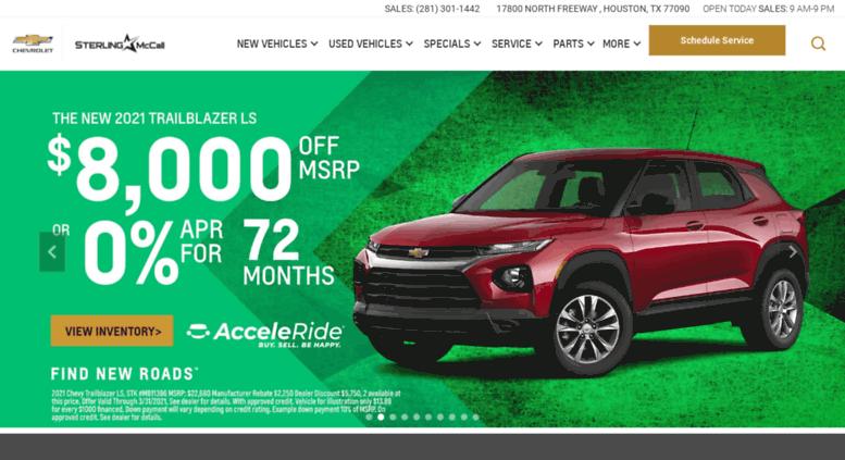 Munday Chevrolet.com Screenshot