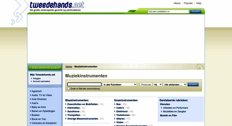 2dehands sites in belgie
