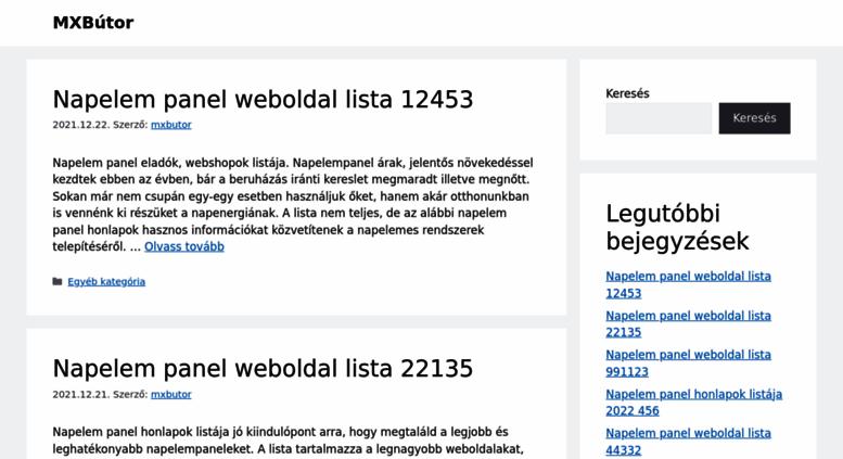 Access mxbutor.hu. Bútorbolt Budapesten XI. ker, bútorüzlet ...