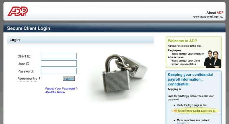 how to get adp password