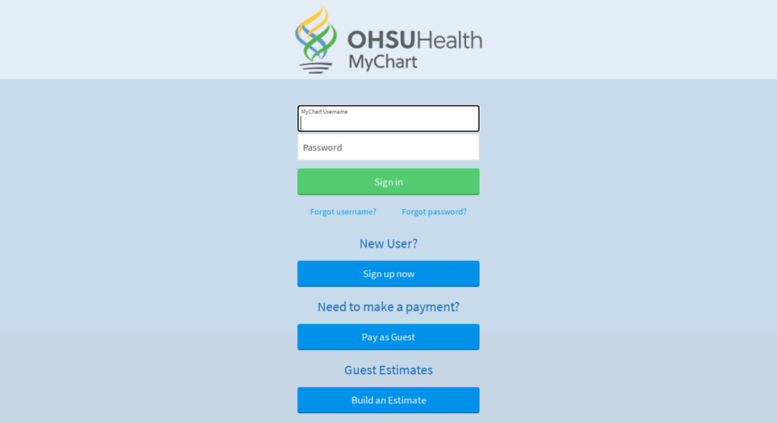 Access mychartweb ohsu edu mychart application error page