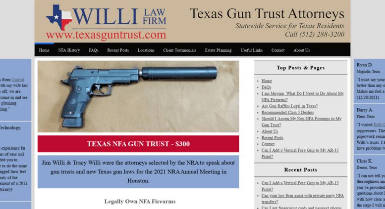 Access myguntrust experienced texas nfa gun trust attorney experienced texas nfa gun trust attorney dealer recommended solutioingenieria Images