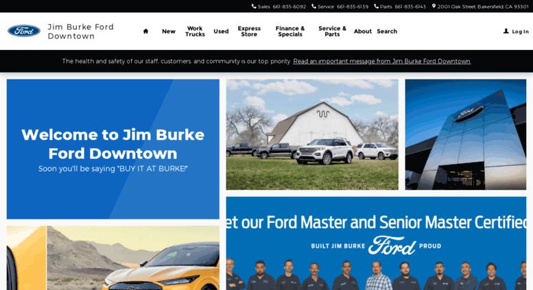 access myjimburkeford. jim burke ford: new & used car dealers