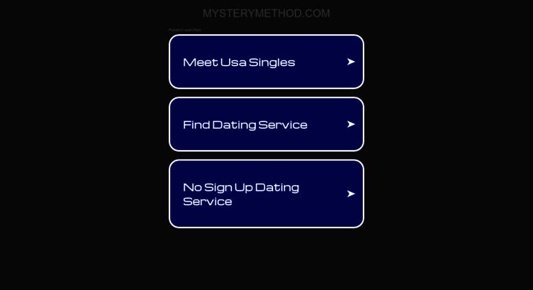 Mystery method dvd