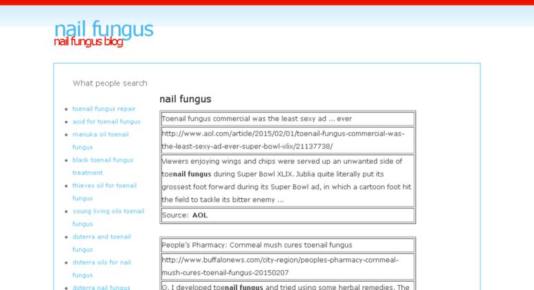Access Nail Fungus Besaba Com Nail Fungus Blog