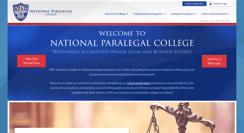 Access Nationalparalegal Online Legal And Business Studies