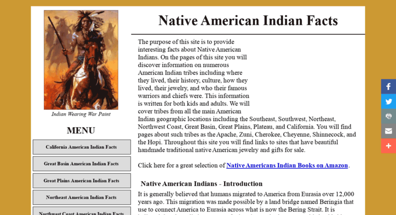 Access native american indian native american for North american culture facts