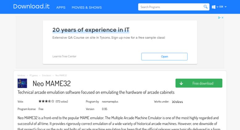 mame32 download free full version windows xp