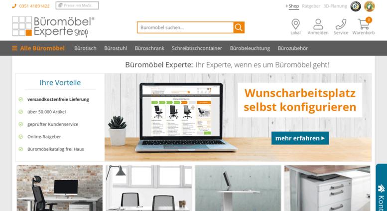 Access news.bueromoebel-experte.de. Büromöbel versandfrei bestellen