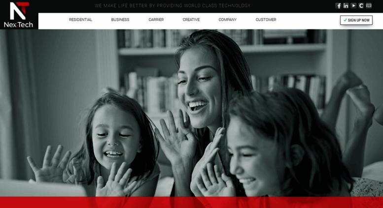 Access Nex Tech Com Internet Tv Phone And Business It Technology Rh  Accessify Com Nex Tech Help Desk Phone Number Nex Tech Wireless Help Desk