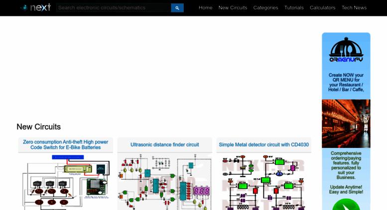 Access next.gr. Electronic Circuits Schematics Projects :: Next.gr
