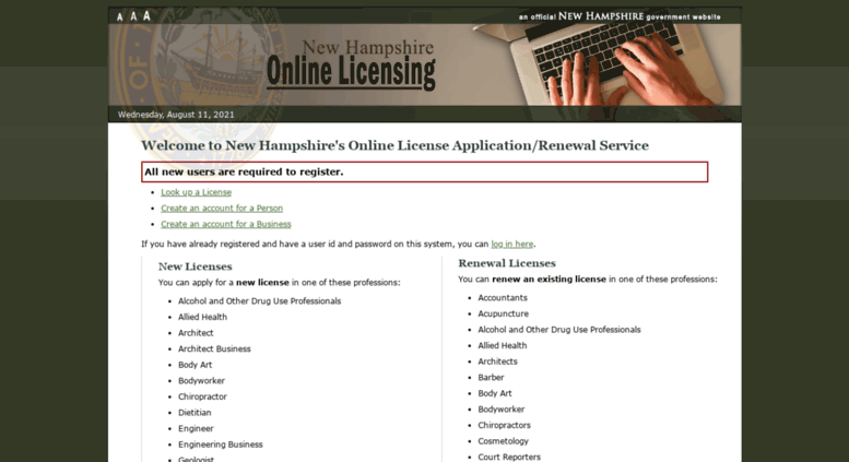 Nursing Asst License Verification