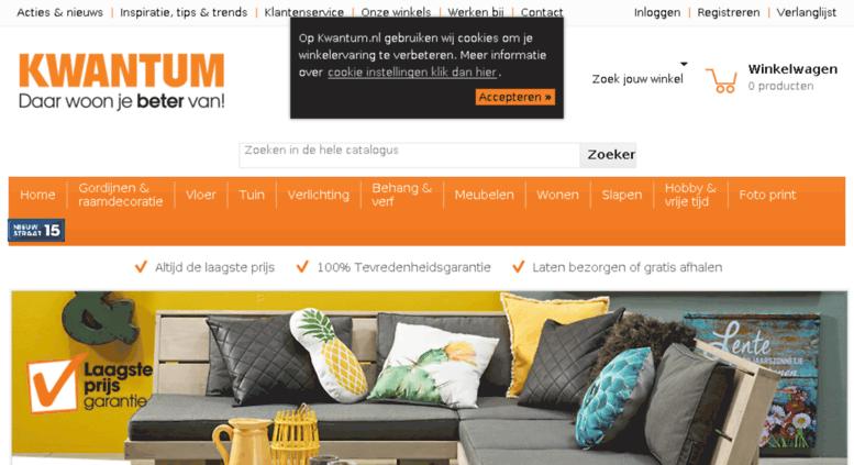 Access nieuwsbrief.kwantum.nl.