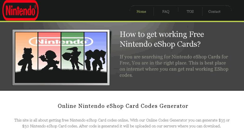 free nintendo eshop codes no survey