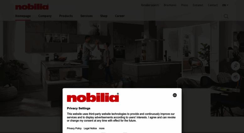 access k chen so individuell wie ihr geschmack nobilia k chen. Black Bedroom Furniture Sets. Home Design Ideas