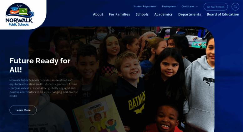 norwalkps Access norwalkps.org. Home - Norwalk Public Schools