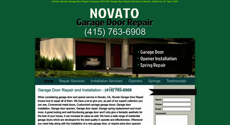 Marvelous Access Novatogaragedoorrepair Biz 19 Svc Garage Door Repair