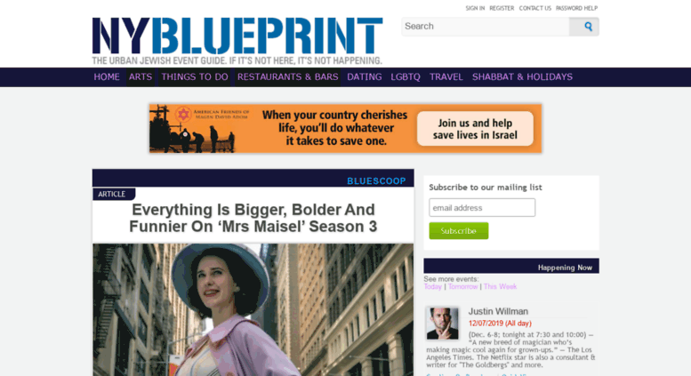 Access nyblueprint the new york blueprint the urban jewish the new york blueprint the urban jewish event guide of new york if it isnt here it isnt happen malvernweather Images