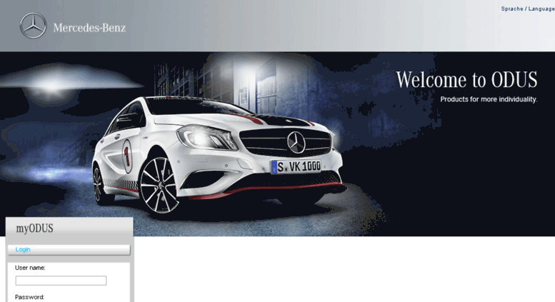 Access odus online for Mercedes benz accessories online