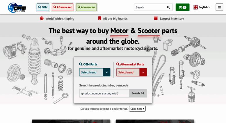 Access oemmotorparts.com. Motorcycle Parts of Aprilia ...