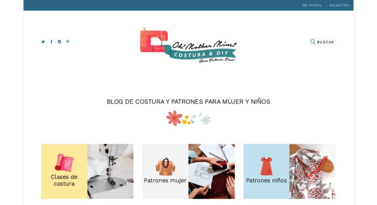 Access ohmotherminediy.com. Blog de costura patrones gratis de ropa ...
