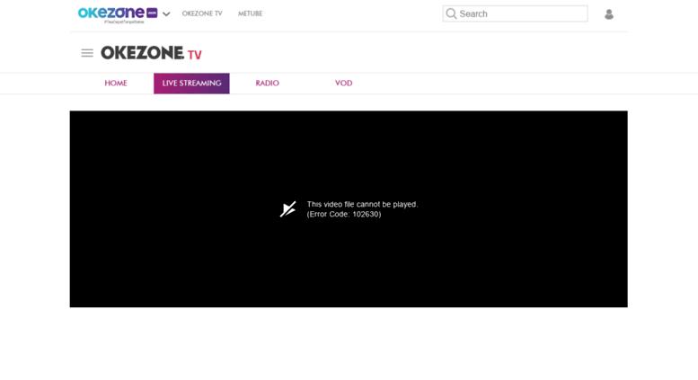 Access Okezone Tv Okezone Tv Rcti Live Streaming Online