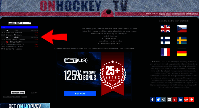 Access Onhockey Tv Onhockey Tv Live Hockey Streams Khl Nhl Euro Hockey Tour World Championship Olympic Games