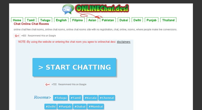 Live chatting without account