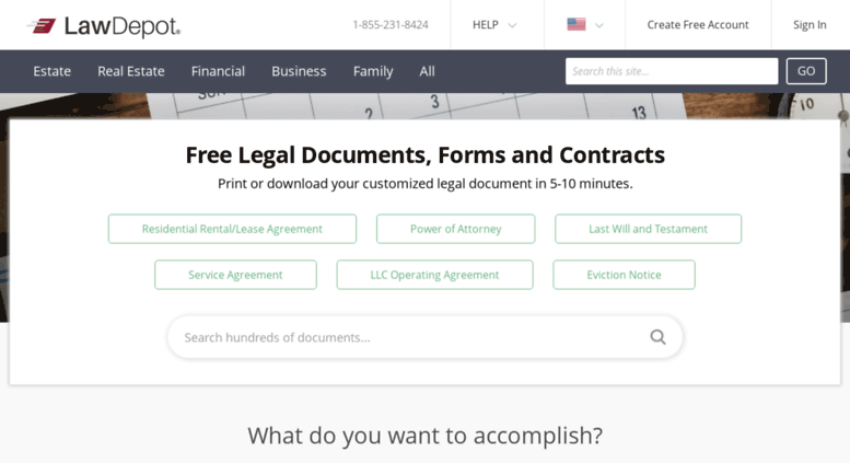 Access Onlineformslawdepotcom Free Legal Documents Forms - Free legal documents online