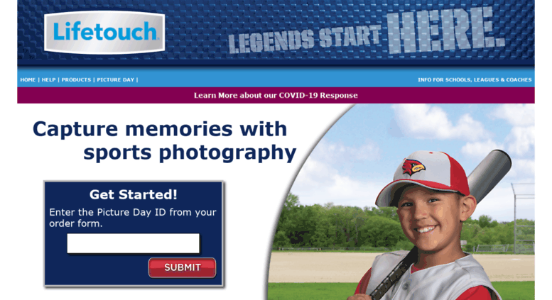 Sports Lifetouch Portraits Order Forms on school portrait order form, my lifetouch order form, prepay order form,