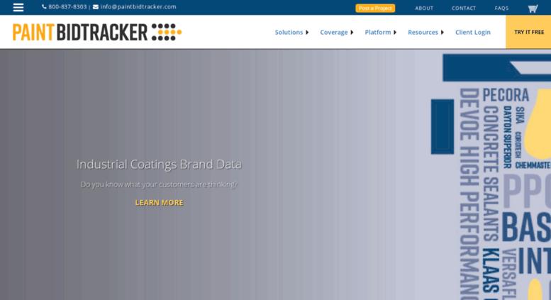 access paintbidtracker com paint bidtracker