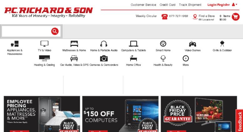 Access Pcrichards Com Shop Appliances Tvs Laptops And More At