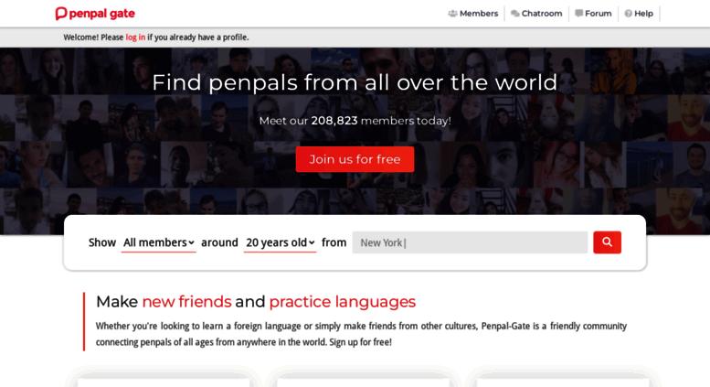 Penpal forum
