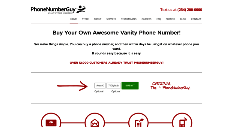 Amazing Vanity Phone Numbers For Sale | Buy A Phone Number